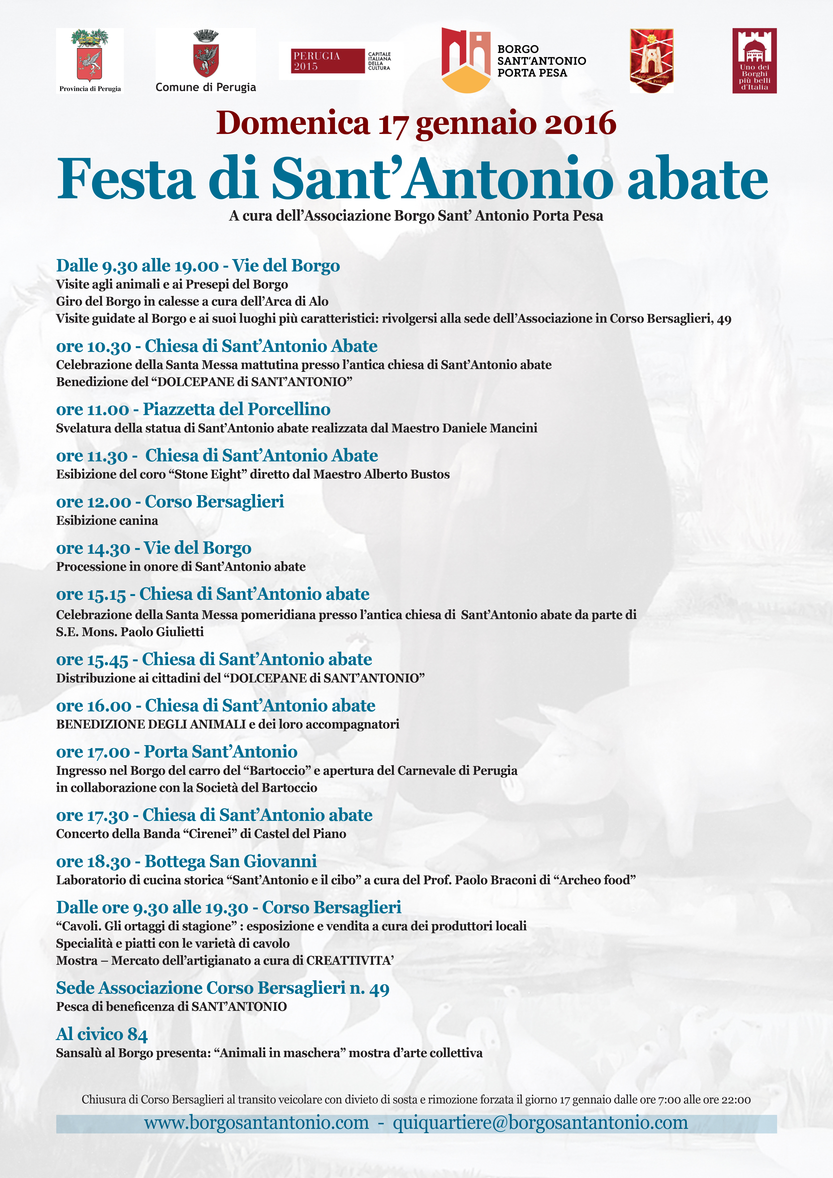 Sant'Antonio Locandina 2016