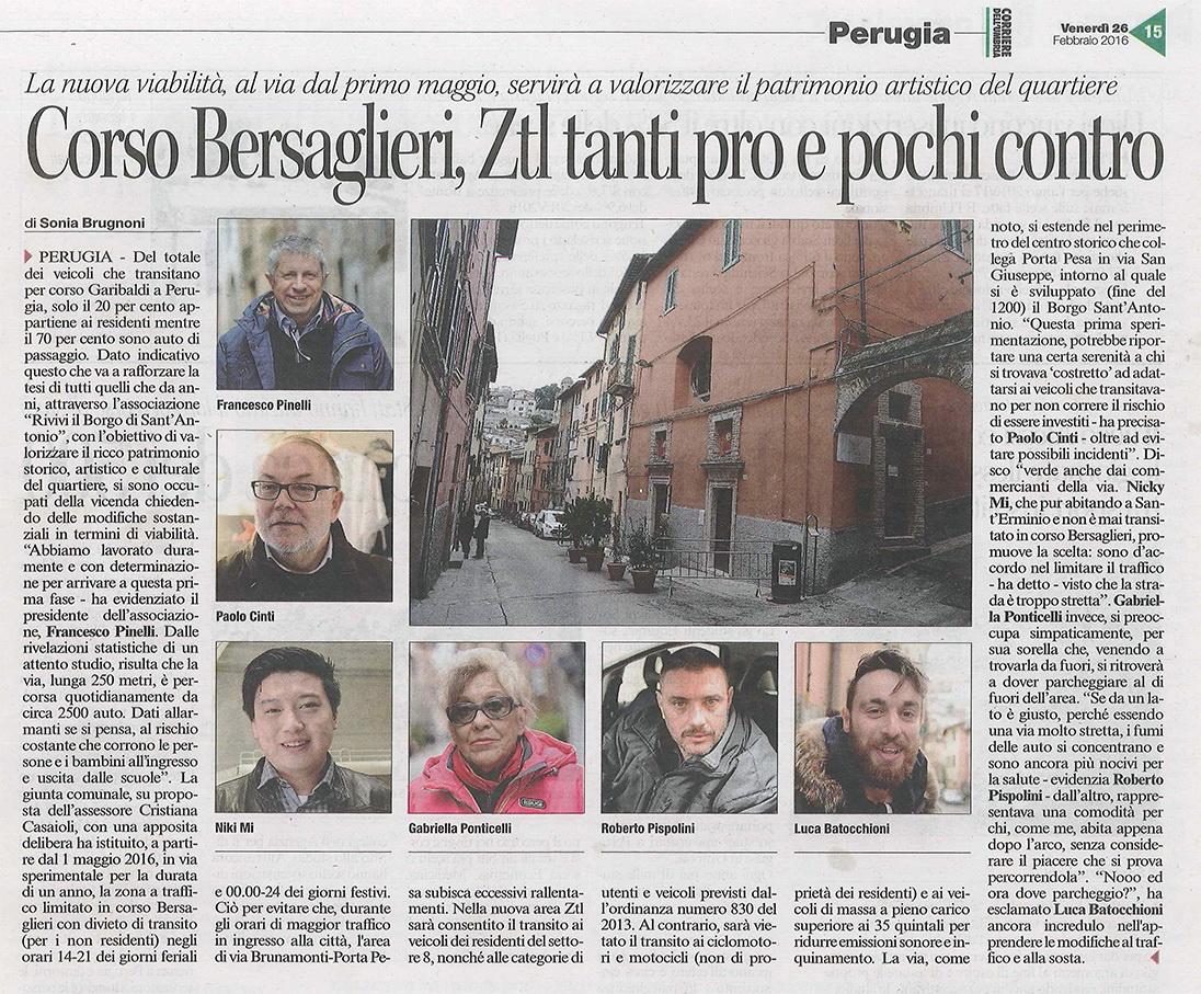 Corriere Umbria 26.02
