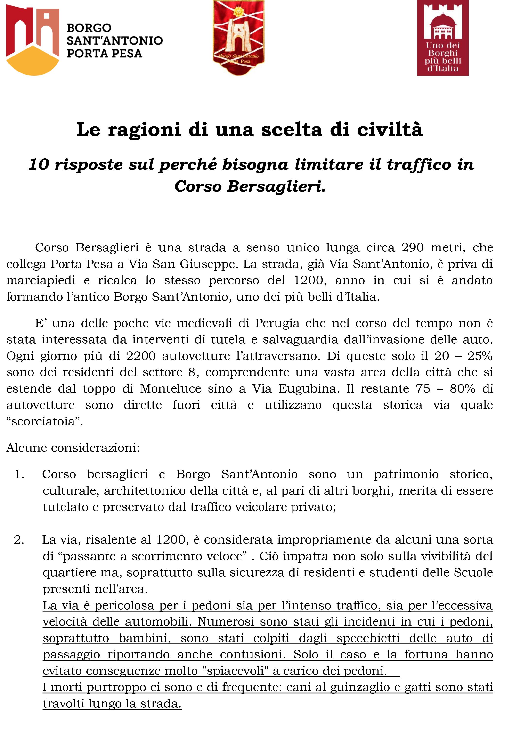 Considerazioni sulla ZTL in Corso bersaglieri-1