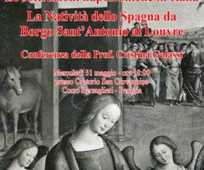 Le sottrazioni napoleoniche in Italia – La natività dello Spagna da Borgo Sant'Antonio al Louvre
