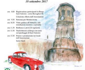 """6º Raduno Automobili D'Epoca """"Abbazia di Montecorona"""""""